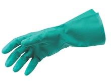 Green Heavy Weight Gloves - Nitrile